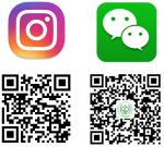 Social Media QR Codes Bottom